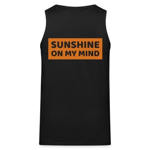 Słońce w mojej głowie - Tank top męski Premium