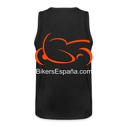 sportsbike with text - Men's Premium Tank Top