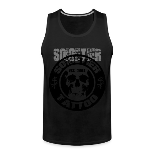logo bad1 - Männer Premium Tank Top