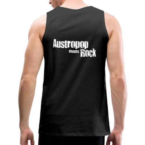 Austropop meets Rock classic back - Männer Premium Tank Top
