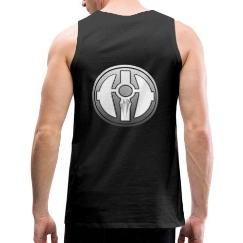 BDL logo - Miesten premium hihaton paita