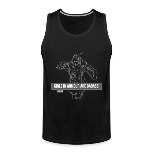 Dinolina Tshirt png - Men's Premium Tank Top