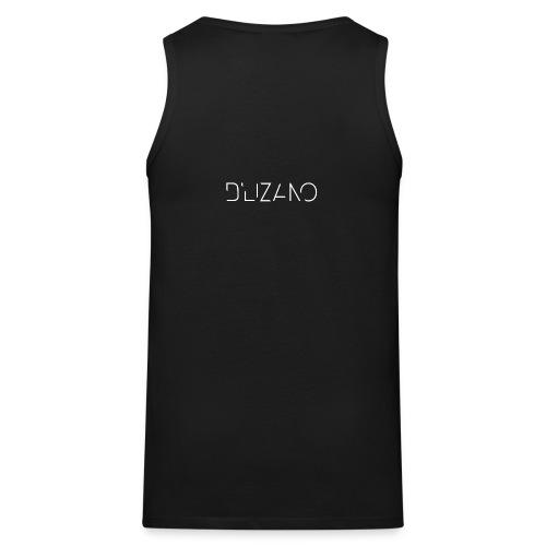 D Lizano Logo Transparent png - Men's Premium Tank Top