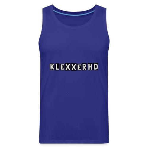 Klexxer Sportkleidung - Männer Premium Tank Top