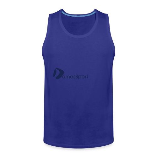 Logo DomesSport Blue noBg - Männer Premium Tank Top