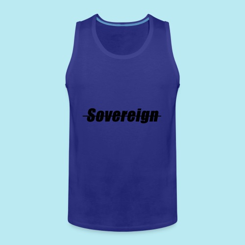 Sovereign Dash Black - Men's Premium Tank Top