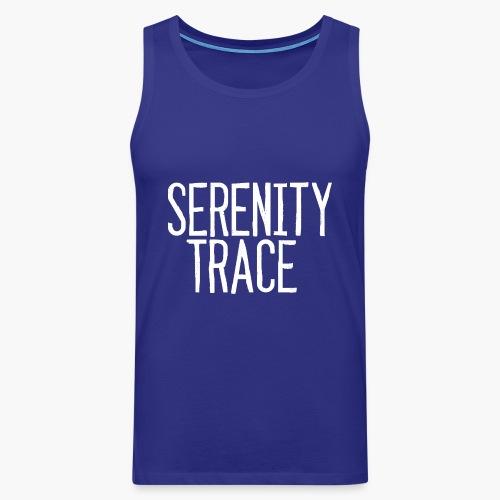 Serenity Trace LOGO W - Premium singlet for menn