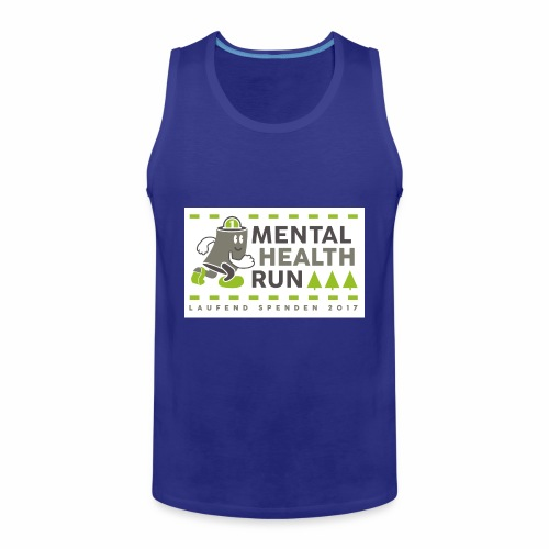 mental health run 2017 - Männer Premium Tank Top
