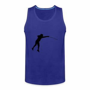 Jumping Fencer - Männer Premium Tank Top