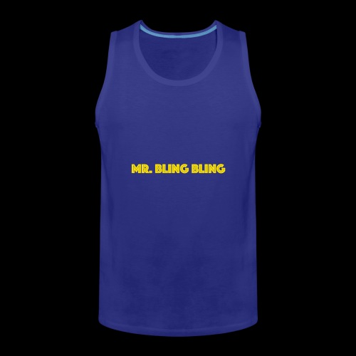 bling bling - Männer Premium Tank Top