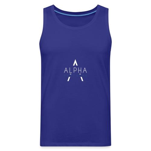 Alpha Hoodie - Männer Premium Tank Top