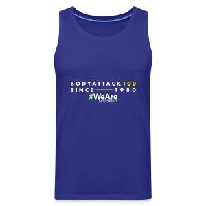 BodyAttack 100 StudioFit Launch Wear - Men's Premium Tank Top