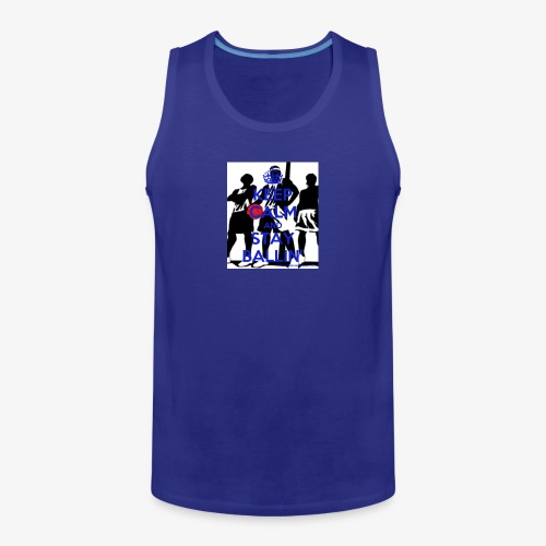 Keep Calm and Stay Ballin' - Men's Premium Tank Top