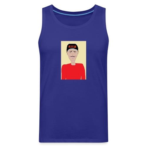 DJ , new shirt - Premiumtanktopp herr
