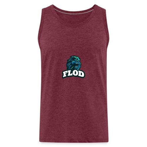 Mijn FloD logo - Mannen Premium tank top