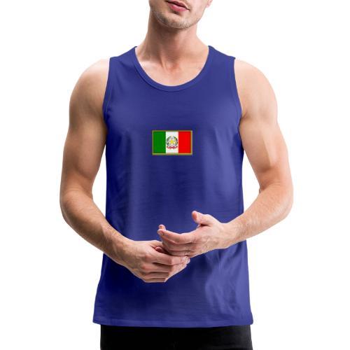Bandiera Italiana - Canotta premium da uomo