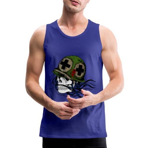 Soldier Skull - Canotta premium da uomo