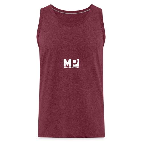 ManigProductions White Transparent png - Men's Premium Tank Top