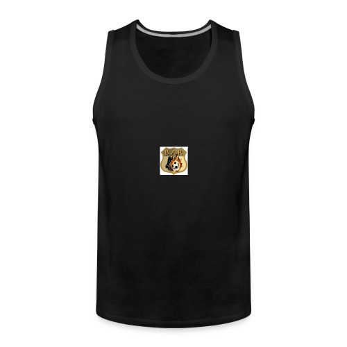bar - Men's Premium Tank Top