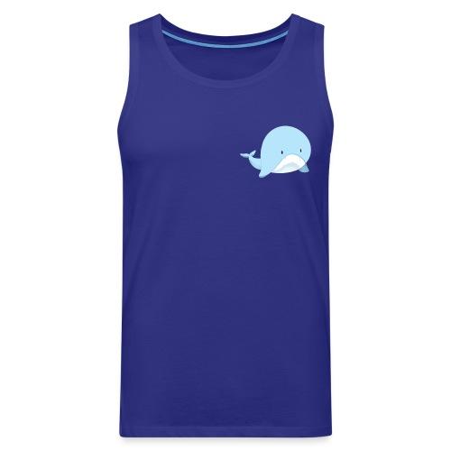 Whale - Canotta premium da uomo
