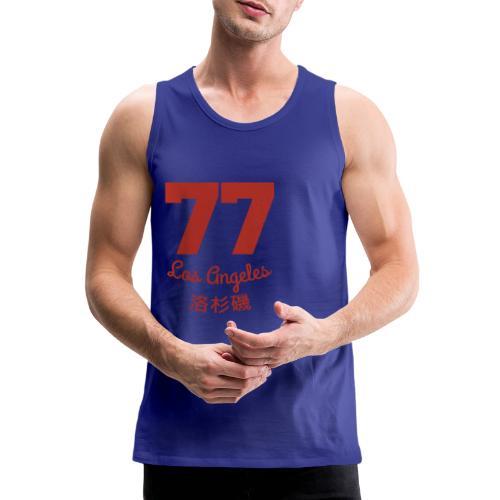 77 los angeles - Männer Premium Tank Top