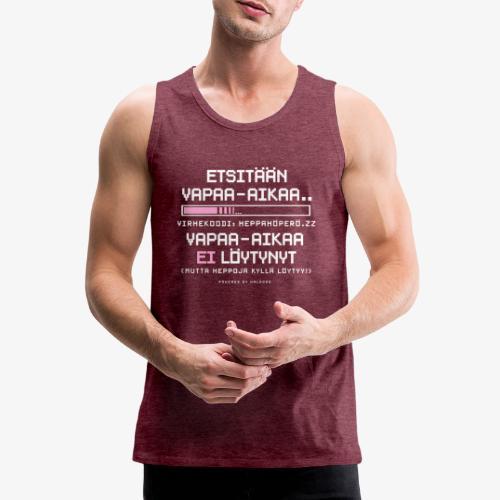 Heppahöperön Vapaa-aika - Miesten premium hihaton paita