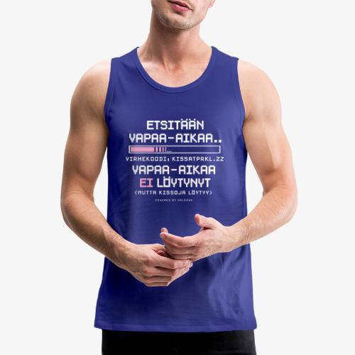 Ei Vapaa-aikaa - Kissat - Miesten premium hihaton paita