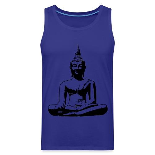 Boeddha beeld - Mannen Premium tank top