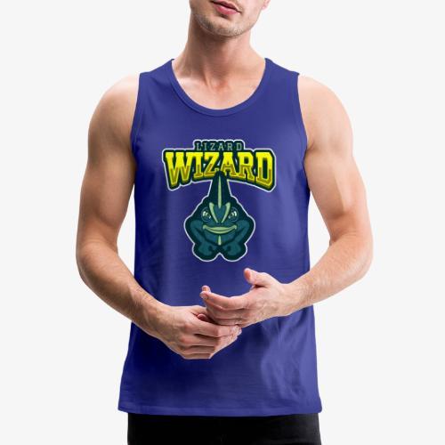 Lizard Wizard - Miesten premium hihaton paita