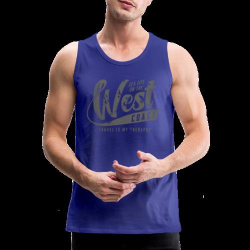 West Coast Sea surf clothes and gifts GP1306B - Miesten premium hihaton paita