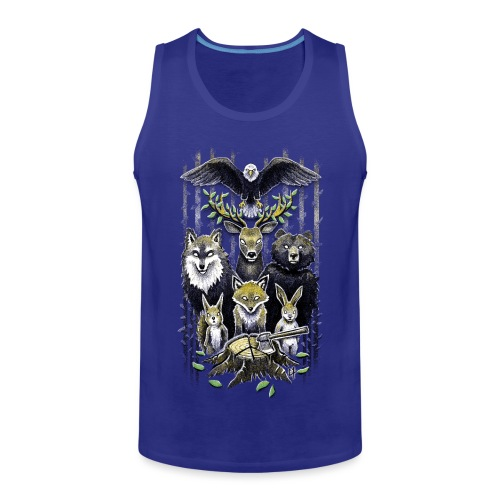 FoRest In Peace - Men's Premium Tank Top