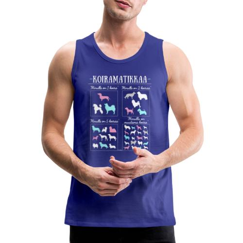 Koiramatikkaa II - Miesten premium hihaton paita