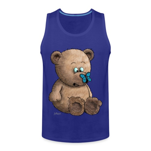 Teddybär - Männer Premium Tank Top