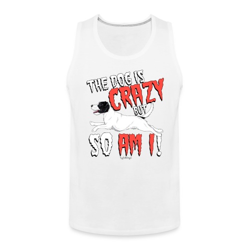parsoncrazy3 - Men's Premium Tank Top