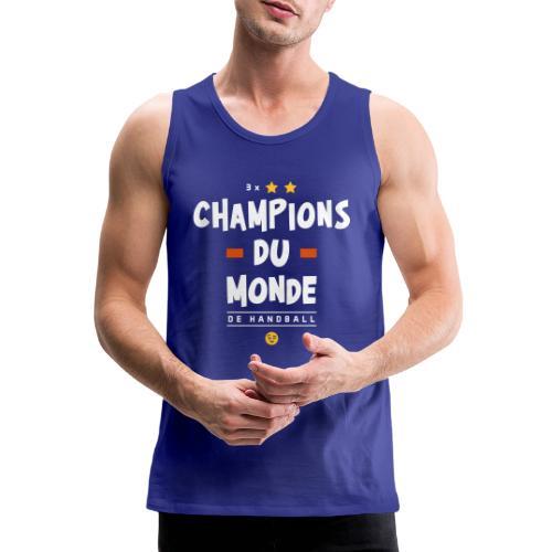 Champions du Monde de Handball - Débardeur Premium Homme