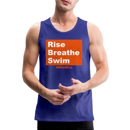 Rise Breathe Swim - Men's Premium Tank Top