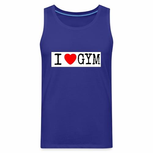 LOVE GYM - Canotta premium da uomo