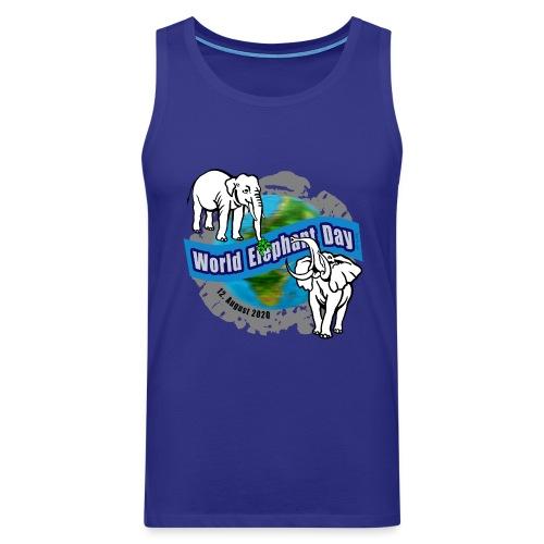 World Elephant Day 2020 - Männer Premium Tank Top