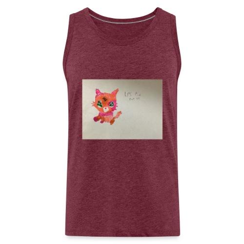 Little pet shop fox cat - Men's Premium Tank Top