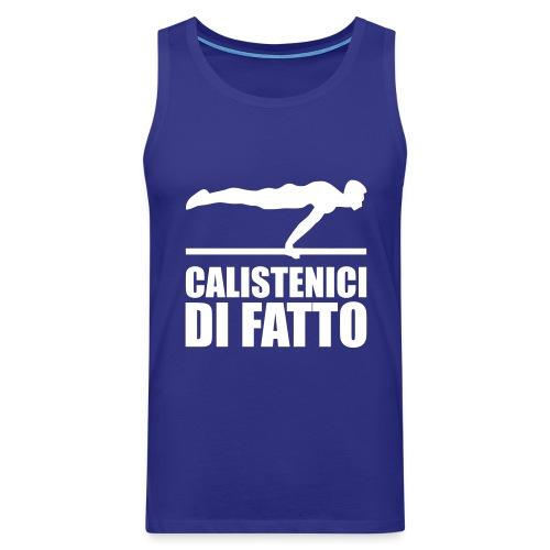 Logo Calistenici di Fatto - Canotta premium da uomo
