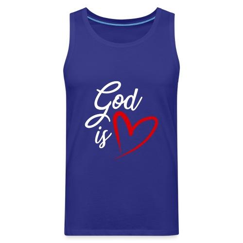 God is love 2B - Canotta premium da uomo