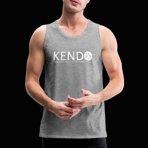 Finnish Kendo Team Text - Miesten premium hihaton paita