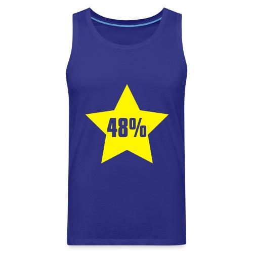 48% in Star - Men's Premium Tank Top