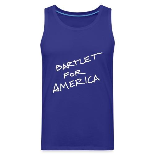 Bartlet For America - Men's Premium Tank Top