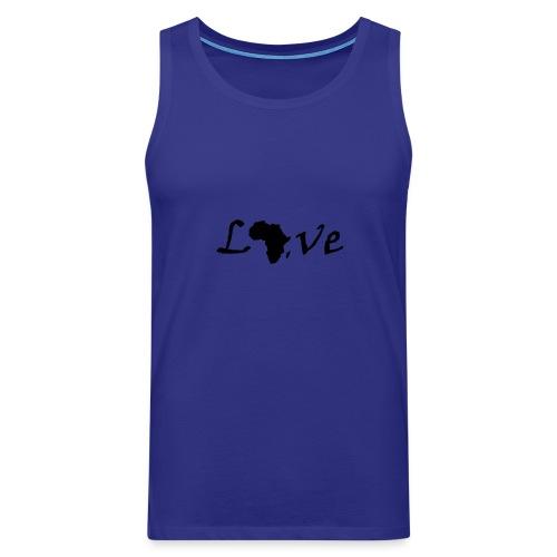 Love Africa - Männer Premium Tank Top