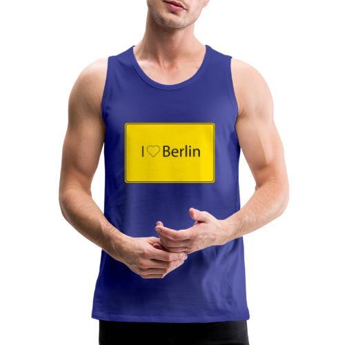 I love Berlin - Männer Premium Tank Top
