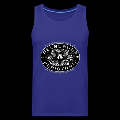 Belsebub&Perisynnit - Miesten premium hihaton paita