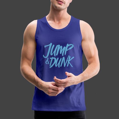 JUMP DUNK - Männer Premium Tank Top