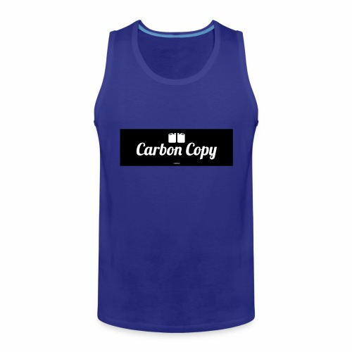 Carbon Copy - Mannen Premium tank top