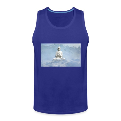Buddha with the sky 3154857 - Men's Premium Tank Top